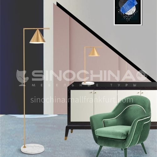 Italian floor lamp Nordic living room bedroom simple modern style golden creative designer lamp-YDH-6024